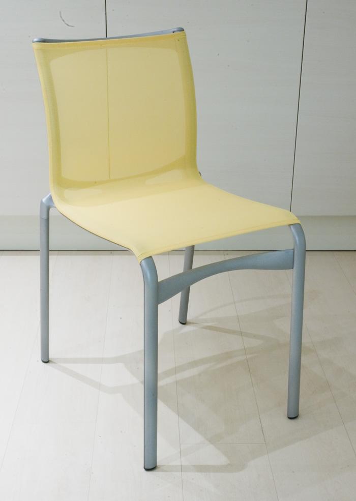 Sedia Alias Modello Highframe Colore Giallo Proposte Interni